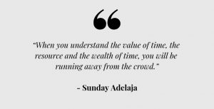 Learn to understand the value of your time